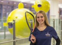 """""""Setting a daily goal is what works best for me."""" -Samantha Simmons, NICU nurse"""